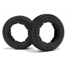HPI 4437 DESERT BUSTER RADIAL TYRE HD COMP (190x60mm/2pcs) (RRP £30.99) *ON SALE £22.99