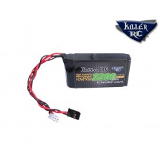 KILLER RC 6.6v 2300mAh LiFePO4 TX/RX Battery (Futaba 4PX, 4PK, 4PKS 4PKSR, 4PL, 4PLS etc).
