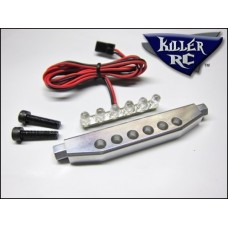 Killer RC Billet Aluminum Tail Light Bar with Red Leds and Red Lenses (RRP £34.99) *ON SALE £29.99