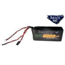 KILLER RC 6000mAh 7.4v RX LiPo Battery - Losi 5IVE, Kraken Vekta, & HPI Baja (Baja requires Killer RC - Baja Taller Battery Box Lid)