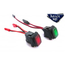 Killer RC Super Power Switch  (Can handle up to 18 Volts & 25 Amps)
