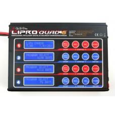 LIPRO QUAD 6 BALANCER CHARGER (NiCd/NiMH/LiPo/LiIon/LiFe/Lead acid) (RRP £189.99) *ON SALE £140.99