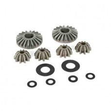 LOSI 5IVE-T/MINI WRC INTERNAL DIFFERENTIAL GEARS & SHIMS (6) (LOSB3202)