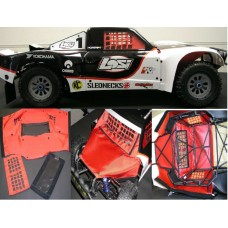 Outerwears - Losi 5ive-T Chassis Shroud - Blue