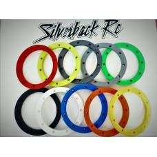 Silverback RC v3 Lipped Outer Beadlocks (4pcs) - Baja 5b/T/SC, Losi 5ive, Kraken Vekta.5