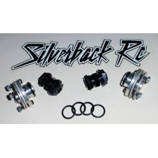 Silverback RC Rear Hub Pin Retainer - O-Rings (4pcs) Baja, Losi, 1/5th Scale