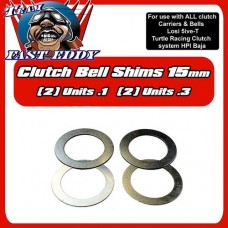 Team FastEddy Losi 5ive-T/ Baja 15mm Clutch Shims
