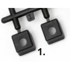 HPI 85422 Nut holder set components (Part 1) - Rear Bulkhead Insert (1pc)