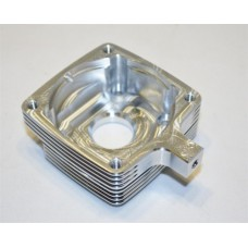 TURTLE RACING V2 Finned Clutch Housing - Orange - (HPI baja) (RRP £39.99) *ON SALE £32.99