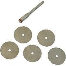 6 pc Steel cutting discs - For Rotary Hobby tools (RRP £2.60) *ON SALE £1.99