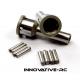 Innovative-RC CVD F/R stub Axle Losi 5IVE-T, 5IVE-B, MINI WRC (2x) - B3224 - (LOSB3216)